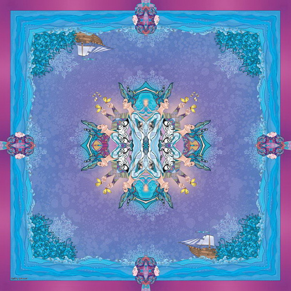Красивые вещи: авторские платки Sofia Gritsyuk