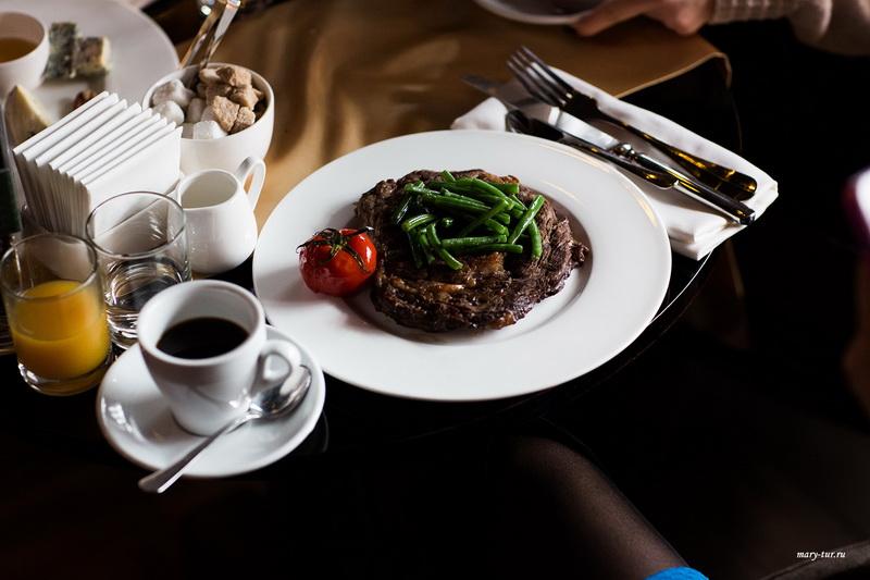 Блюдо из меню завтрака с Paulig Presidentti