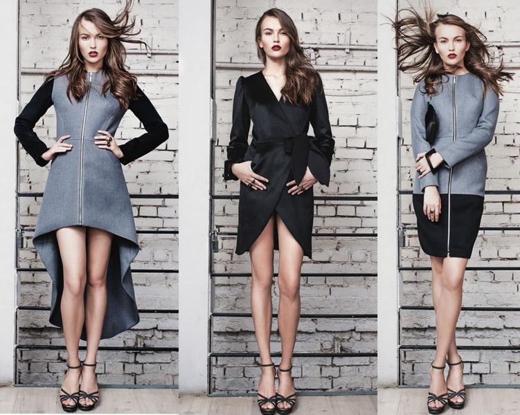 Российские дизайнеры - пальто Dasha Gauser