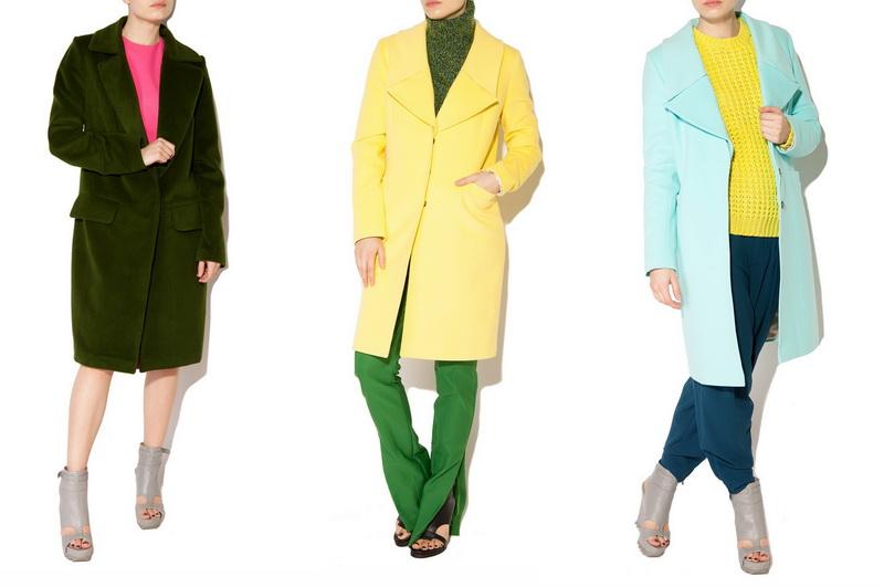 Российские дизайнеры - пальто Libellulas