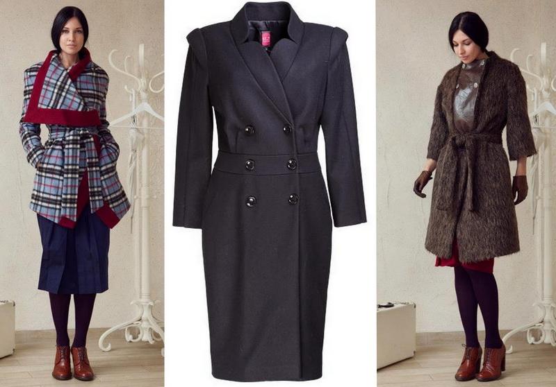 Российские дизайнеры - пальто Studio Seven