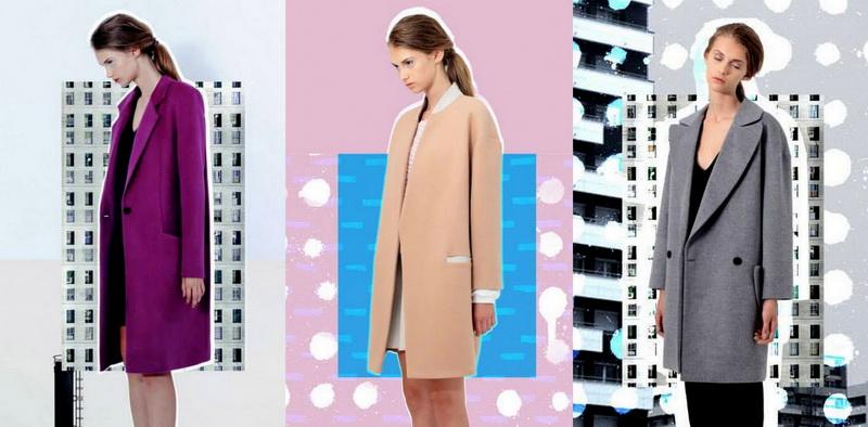 Российские дизайнеры - пальто Luda Nikishina