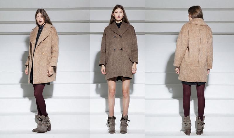 Российские дизайнеры - пальто Olga Sukhotinskaya