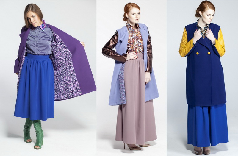 Российские дизайнеры - пальто Nadia Khokhlova