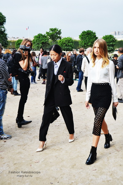 My Paris Fashion Week: streetstyle before Elie Saab Spring 2014