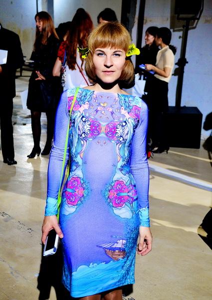 Мари Тур. Paris Fashion Week