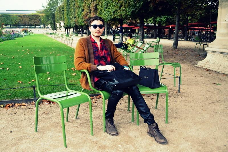 Данил Толмачев на Недел Моды в Париже после Показа Elie Saab