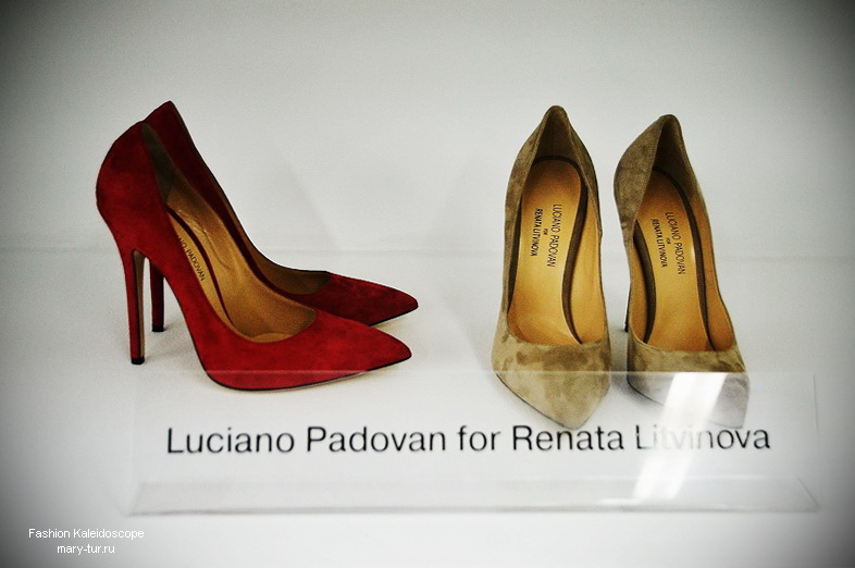 Press day: шоурум Ли-Лу.  Luciano Padovan for Renata Litvinova , Весна-Лето 2014