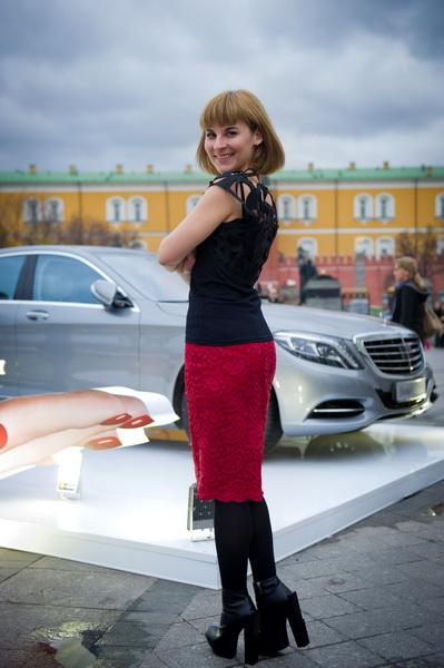 MBFWR: мои образы. Накидка - Borodulins, юбка MAYAMODA Фото - Irina Bujor