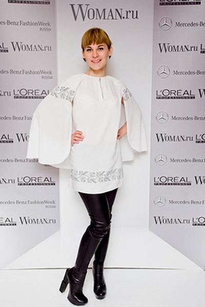 MBFWR: мои образы. Блуза - Borodulins  Фото - woman.ru