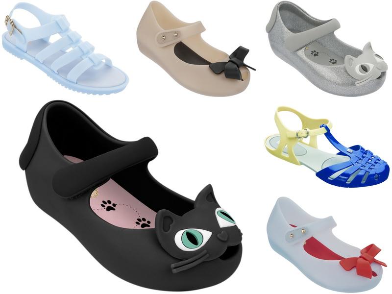 Spring 2014: Новая коллекция детской обуви Melissa