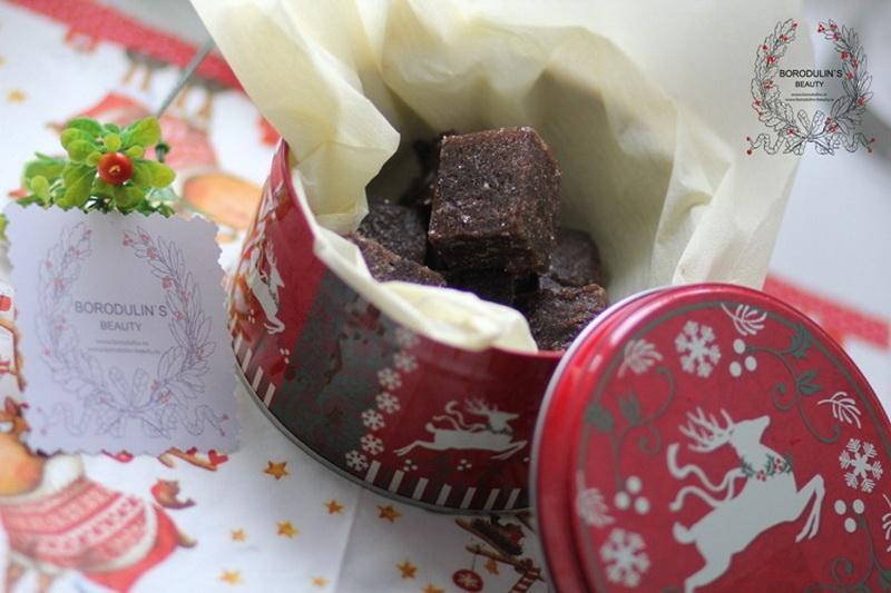 Новогодняя и Рождественская серия Borodulins Beauty. Набор Кофе по-итальянски