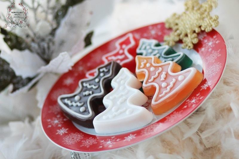 Новогодняя и Рождественская серия Borodulins Beauty. Набор Пряники-елочки