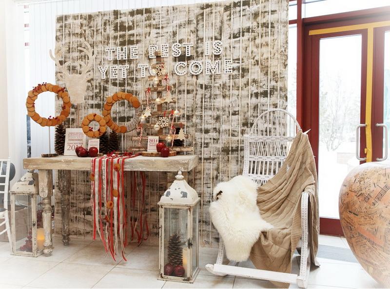 Millennium Park. Мастер-класс «Тенденции новогоднего украшения загородного дома к Новому году и Рождеству»