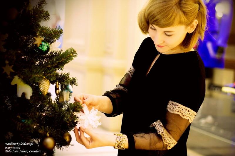 Фотографические карточки: Предпраздничное настроение. Платье Borodulin's