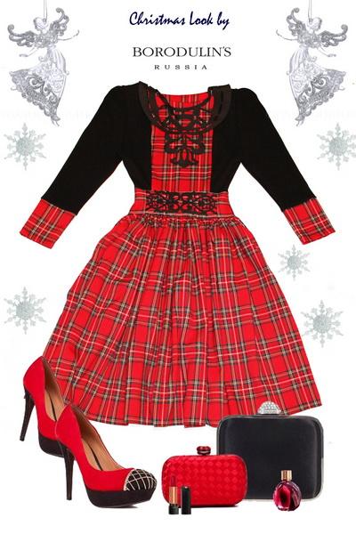 Рождественская коллекция коктейльных и вечерних платьев от BORODULINS