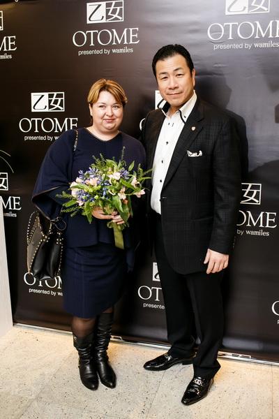 Открытие бутика ОТОМЕ: Настасья Иванова и господин Такеши