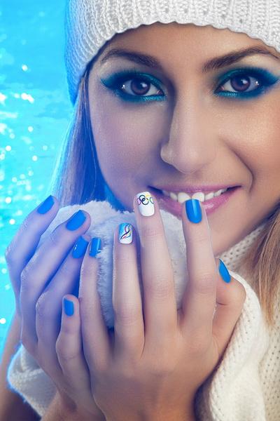 """Beauty Treands 2014: Идеи зимнего маникюра от Студии ExpressNails. """"Олимпийские игры"""""""