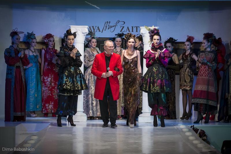 Показ Slava Zaitsev, коллекция Haute Couture Весна-Лето 2014