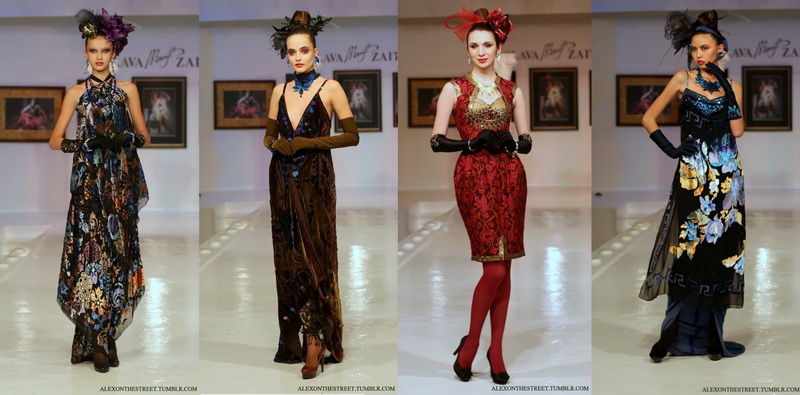 Показ Haute-Couture в Доме Моды Slava Zaitsev