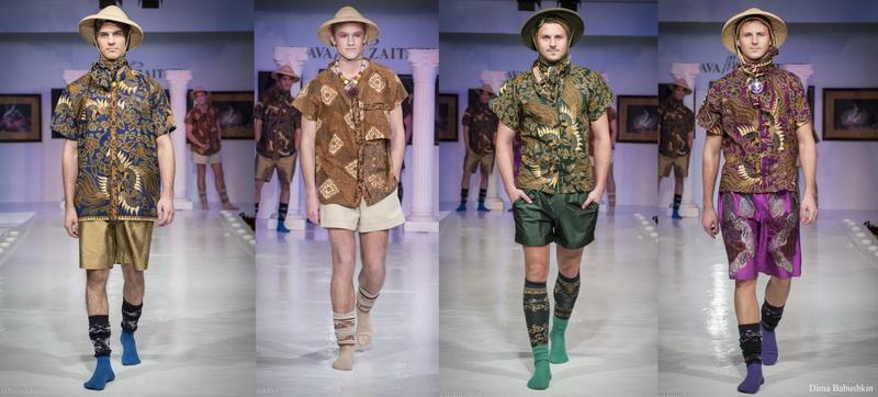 Показ Haute-Couture в Доме Моды Slava Zaitsev. Мужская линия
