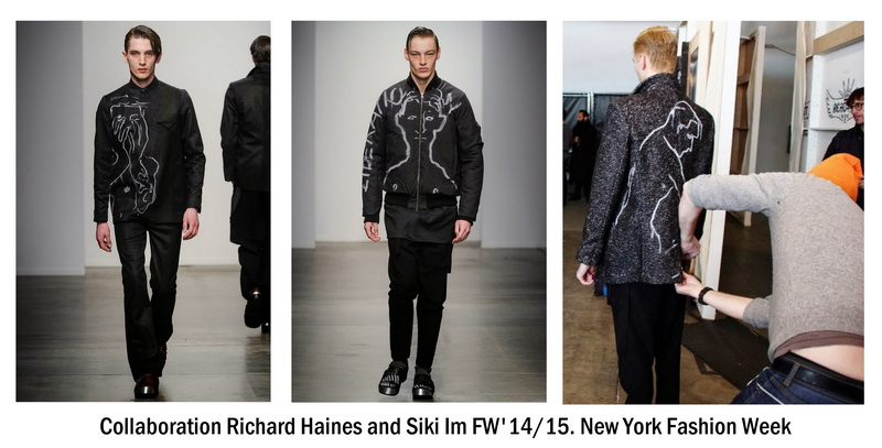 Richard Haines and Siki Im. FW 2014/15