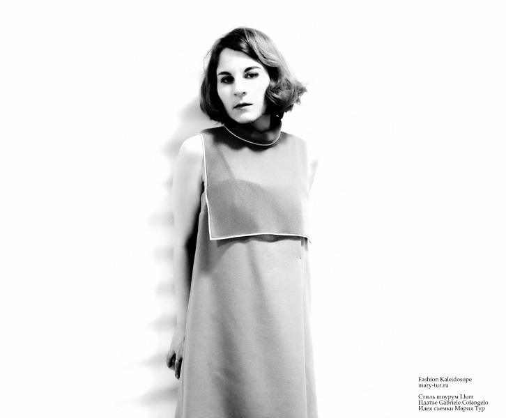Стиль шоурум Llurr Платье Gabriele Colangelo Идея съемки Мария Тур