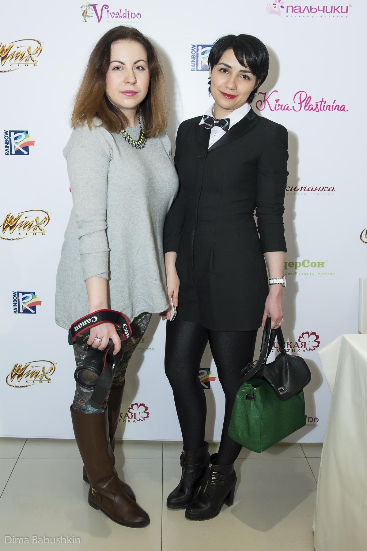 Алина Войнова и Анна Мелкумян