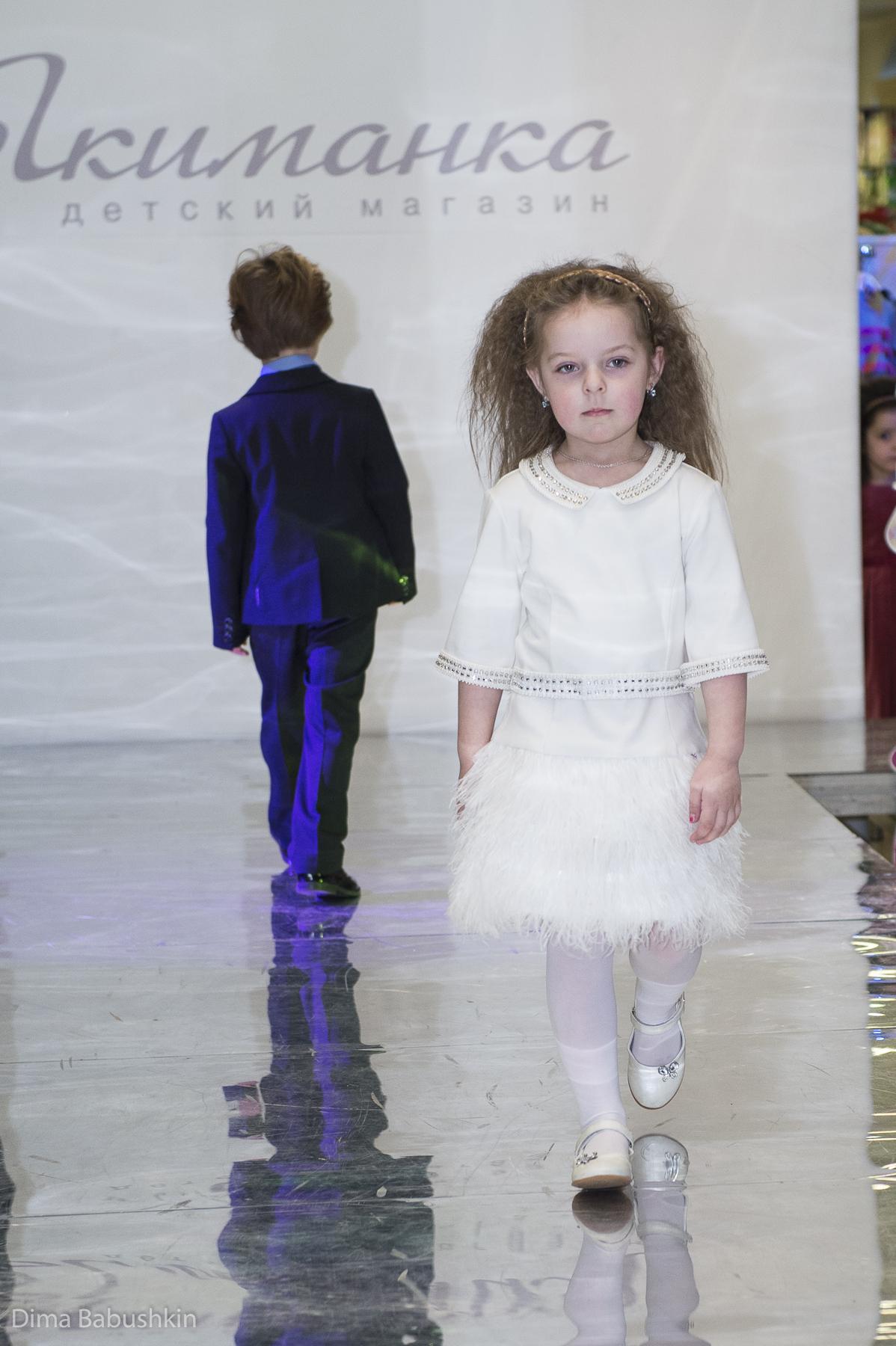 """Детский показ одежды. Галерея """"Якиманка"""""""
