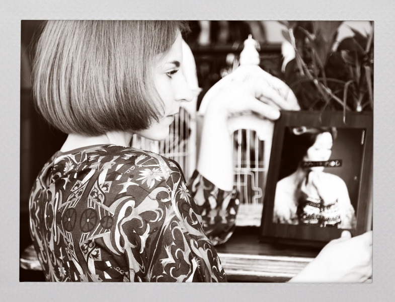 Мария Тур в платье КАТЯ DOBRЯKOVA. Шоурум  Glamcom. Фото: Evgeniya Mironova.