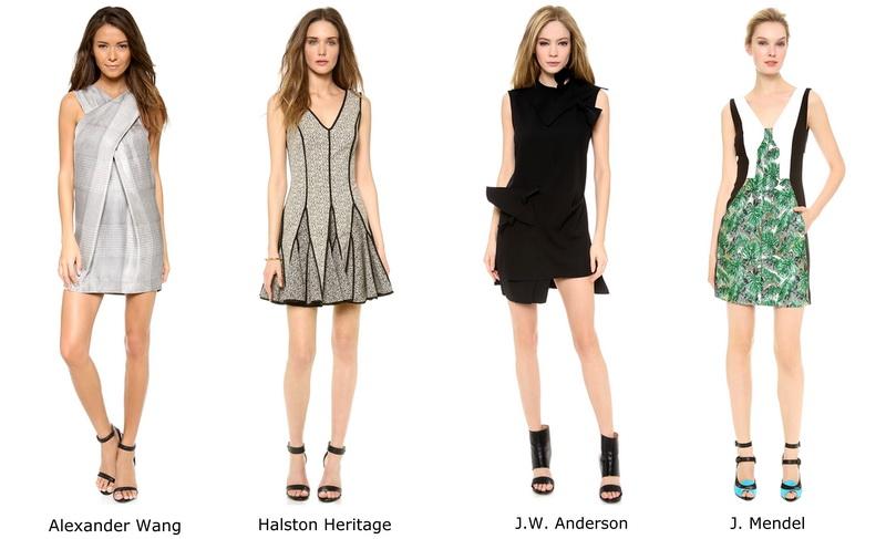 Элемент стиля Эммы Утосон: мини-платье
