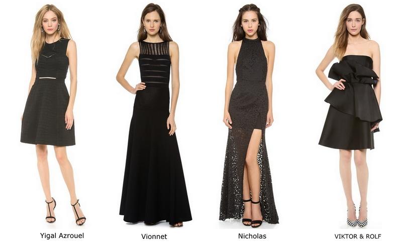 Элемент стиля Ренаты Литвиновой: черное платье