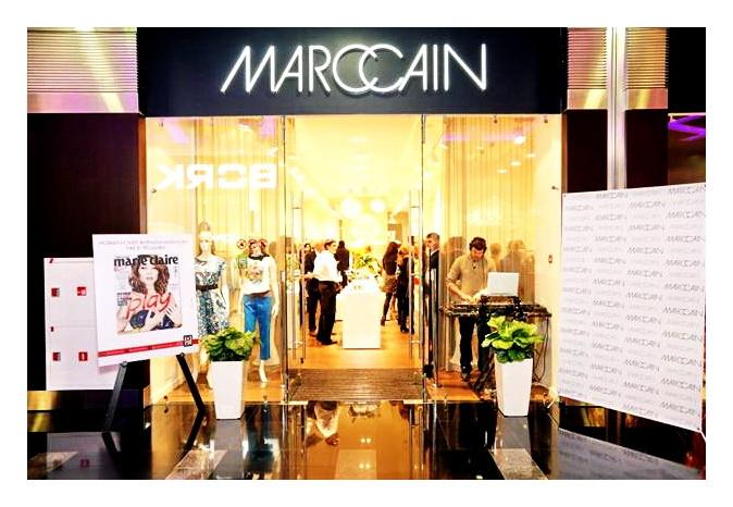 Новый магазин Marc Cain в ТЦ Капитолий