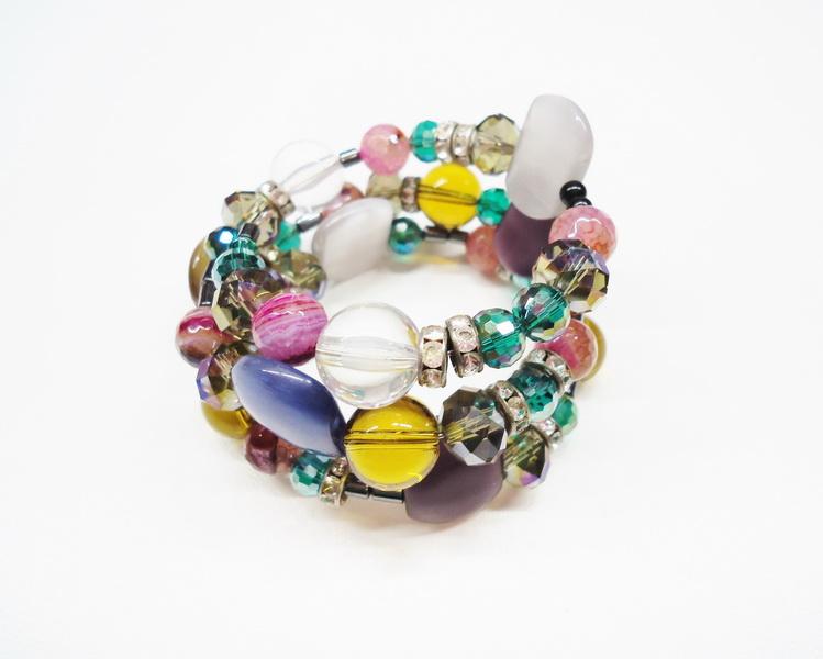Spring mood: Карамельная коллекция браслетов Diana Serebrova совместно с Кафе Бижу