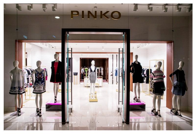 Открытие бутика Pinko во Временах Года