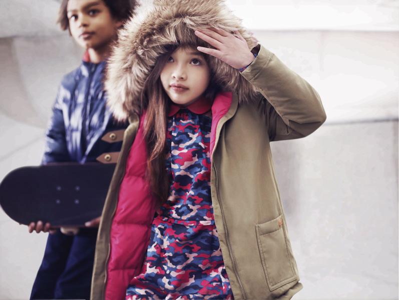 Осень-Зима 2014/2015: Детская история от Lacoste