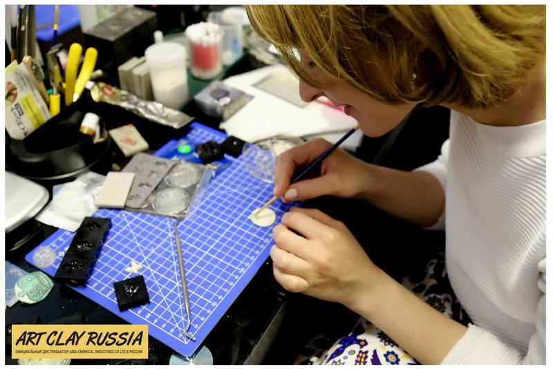 Пластичные глины Art Clay Russia