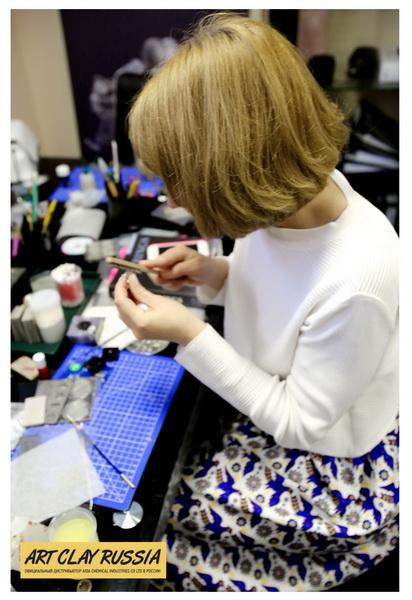 Ювелирный мастер-класс с пластичными глинами Art Clay Russia
