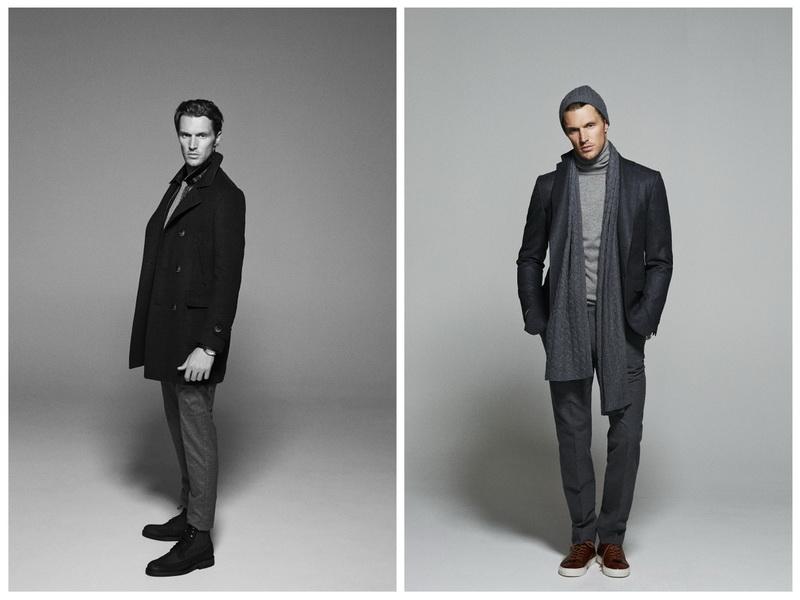 Massimo Dutti, мужская мода Осень-Зима 2014-2015