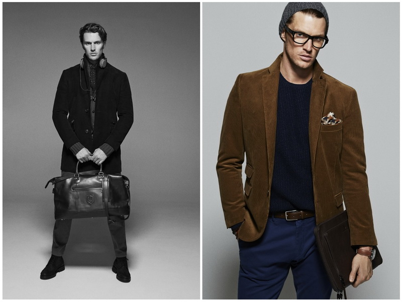 Massimo Dutti, тенденции мужской моды Осень-Зима 2014-2015