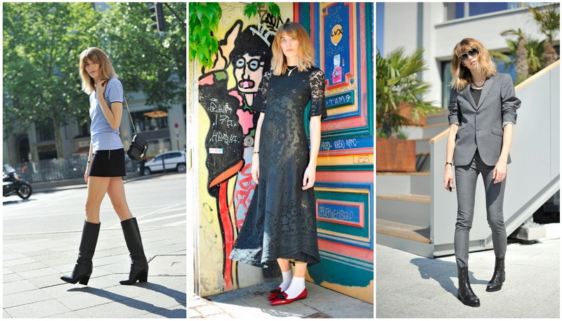 Вероника Хайльбрунер для проекта Stylemakers от Jimmy Choo. Осень-Зима 2014-2015