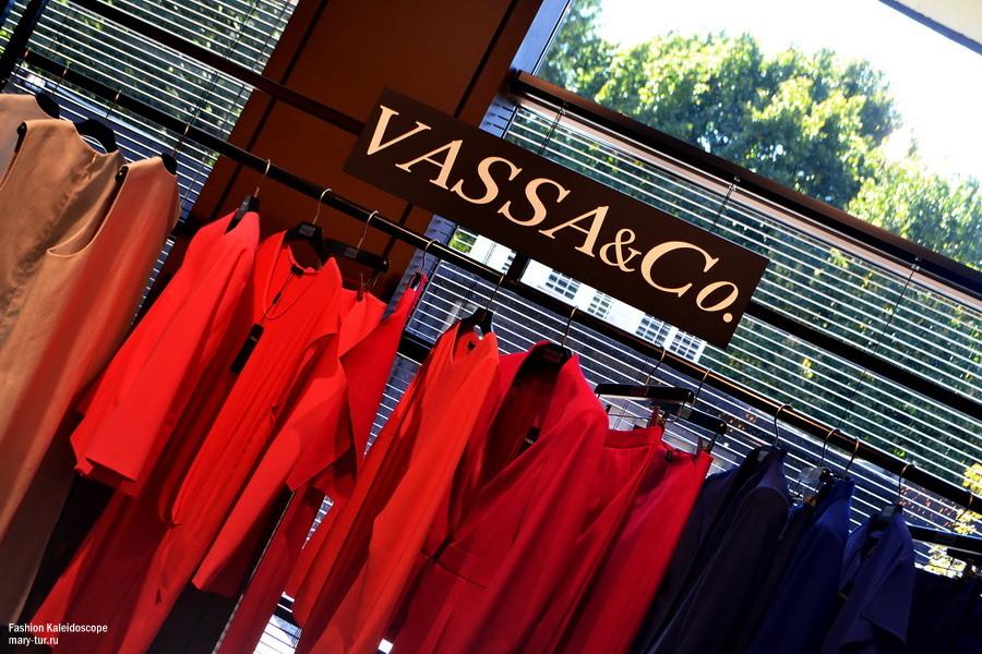 Vassa&Co, фрагменты коллекции Весна-Лето 2015. Шоу-рум Sari Spazio