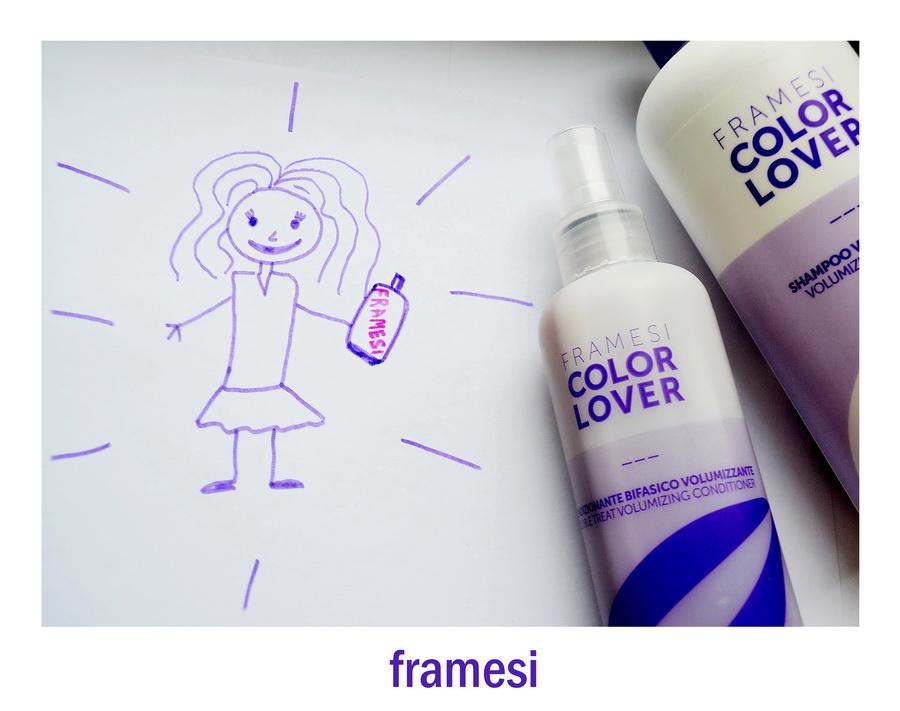 Beauty-тест: Шампунь и двухфазный несмываемый кондиционер для придания объема от Framesi