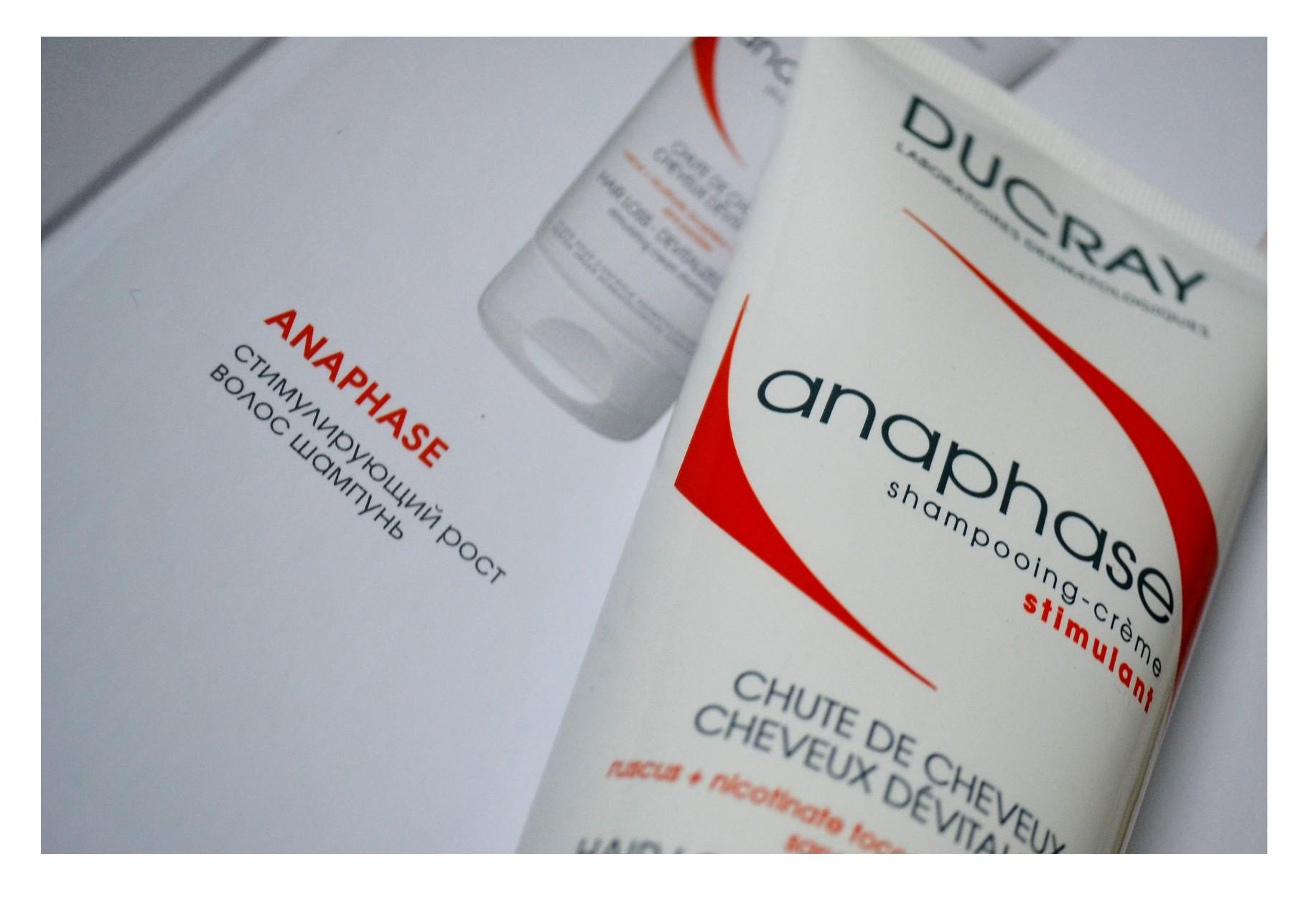 Шампунь стимулирующий рост волос Ducray Anaphase