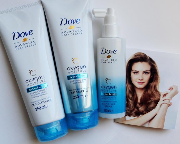 Новая коллекция Dove. Advanced Hair Series - Легкость кислорода. Oxygen Moisture