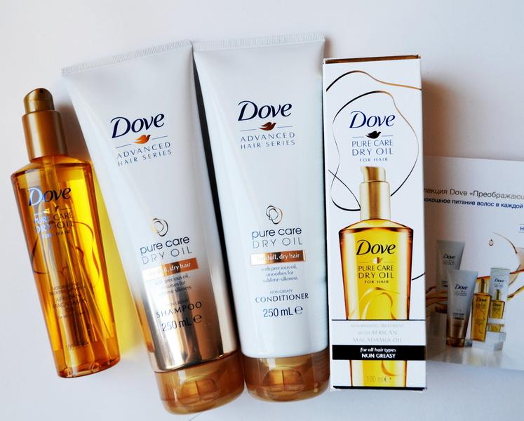Новая коллекция Dove. Advanced Hair Series -Преображающий уход