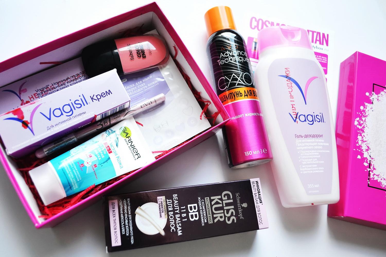 Коробочка New beautybox от Cosmopolitan. блог Марии Тур