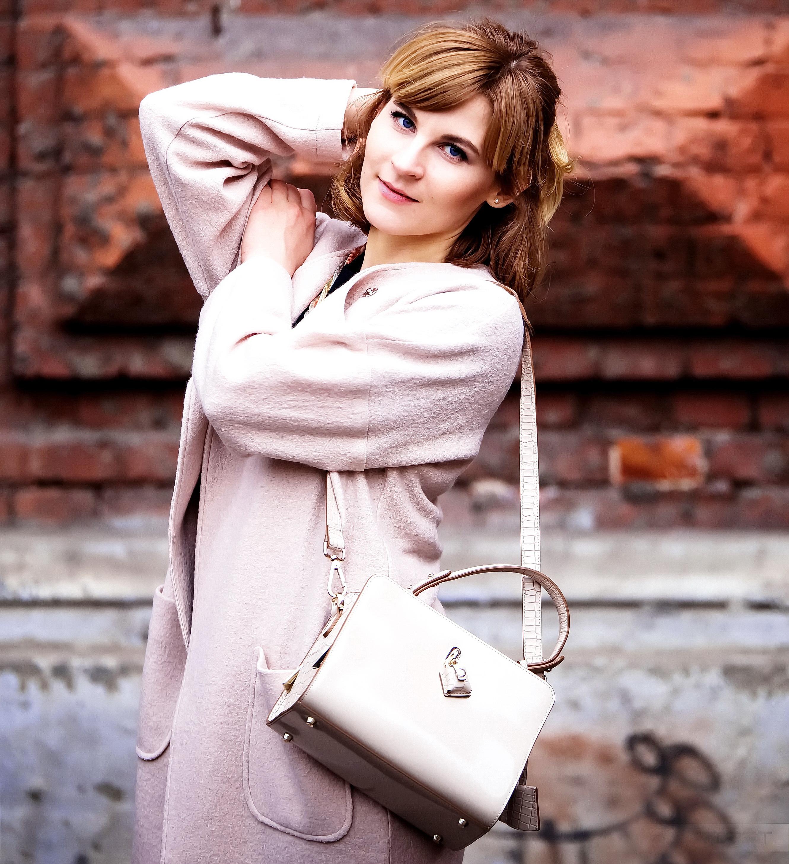 Сумка — Eleganzza; Пальто — Vadim Merlis