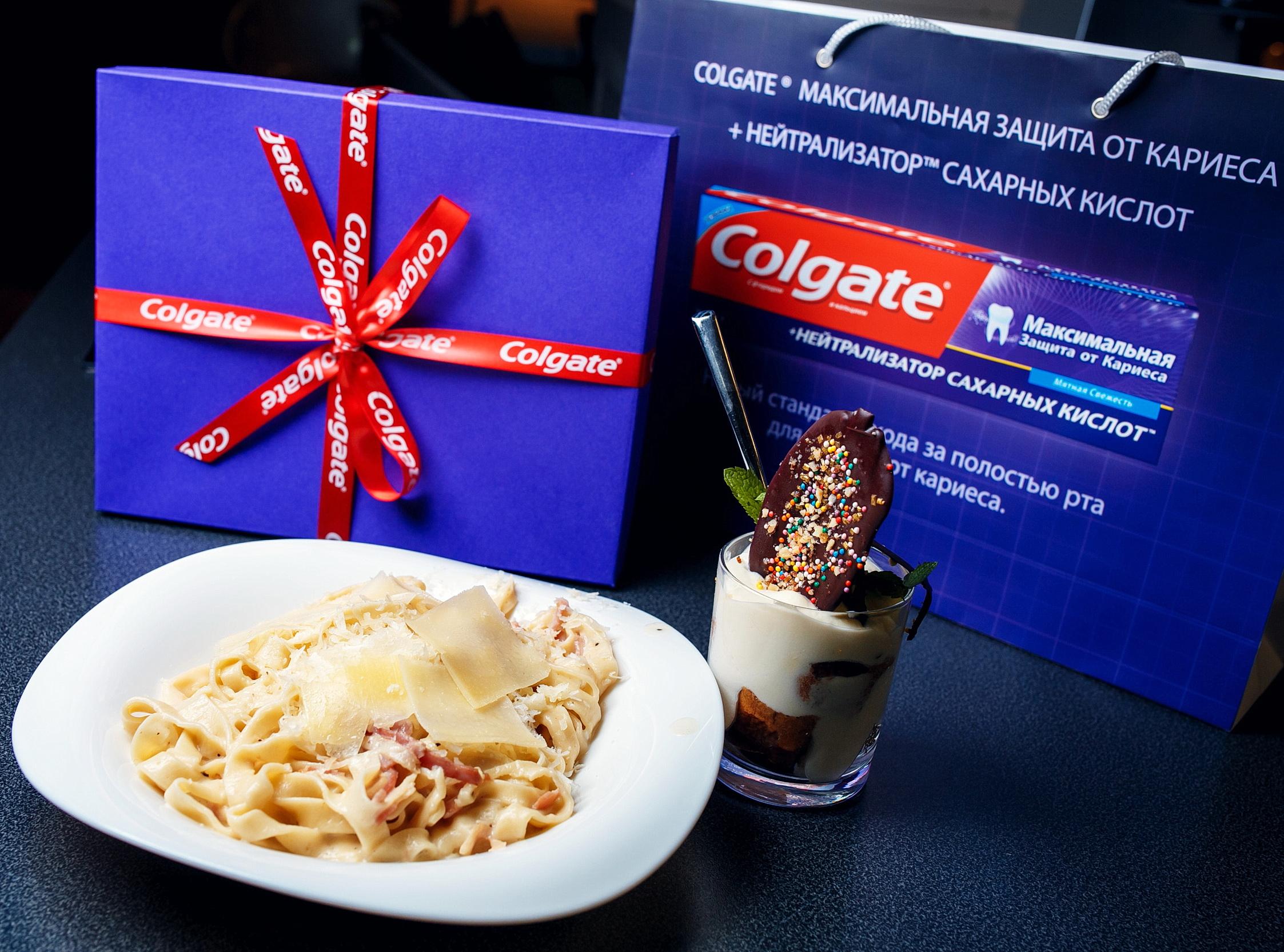 """Кулинарная вечеринки """"Еда без вреда"""" с Colgate"""