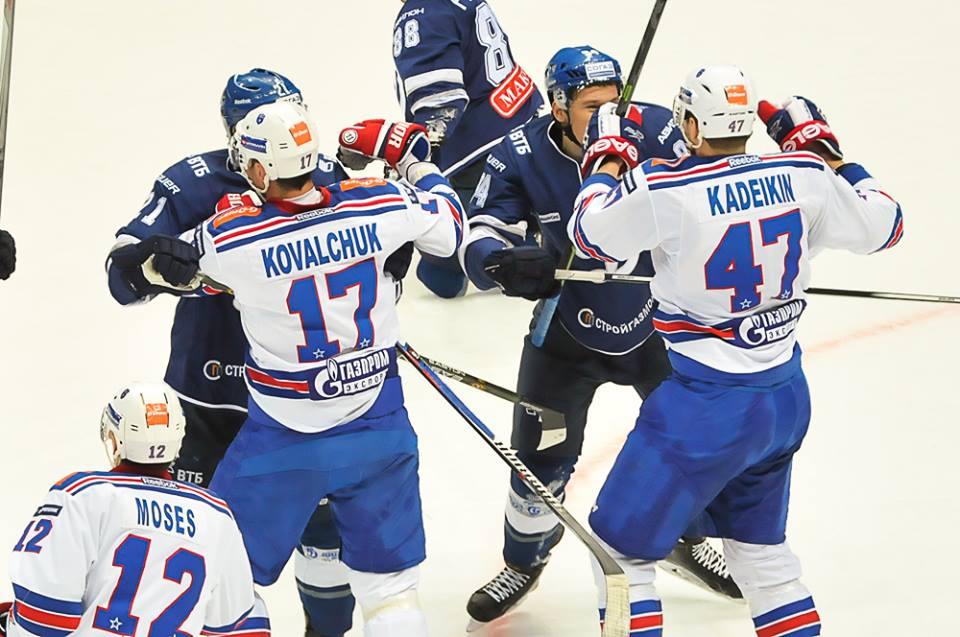 13 ноября будет еще один центральный хоккейный матч ноября - «Динамо» Мск встретится с ЦСКА